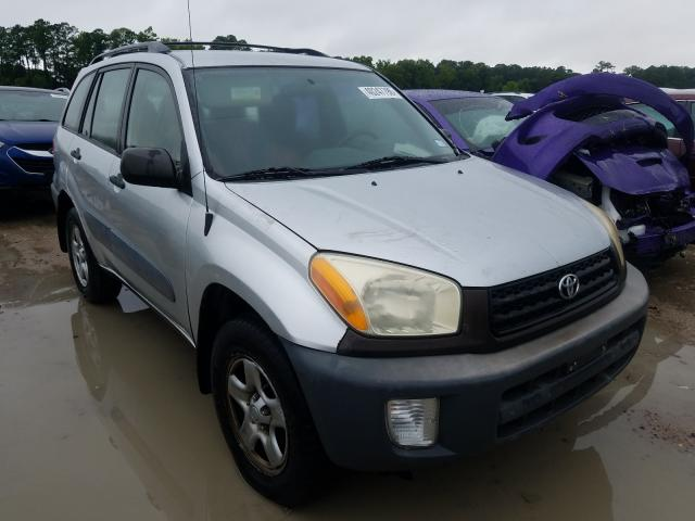 Salvage cars for sale at Houston, TX auction: 2001 Toyota Rav4