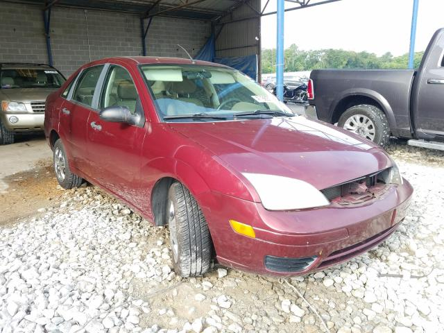 Ford Focus ZX4 salvage cars for sale: 2007 Ford Focus ZX4