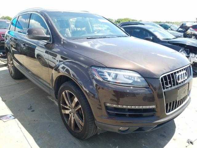 Audi salvage cars for sale: 2013 Audi Q7 Premium