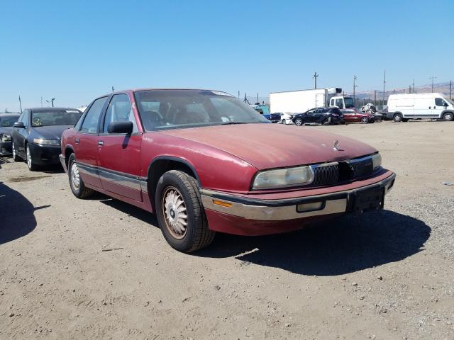 Buick salvage cars for sale: 1992 Buick Regal Limited