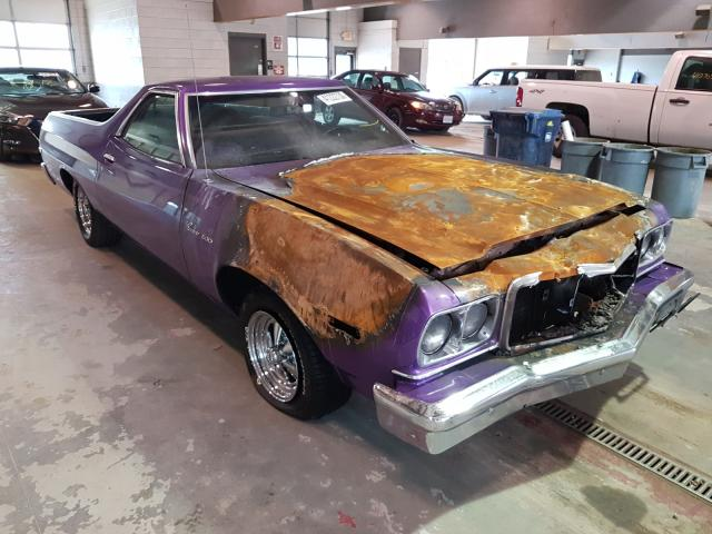 Salvage cars for sale from Copart Sandston, VA: 1976 Ford Ranchero
