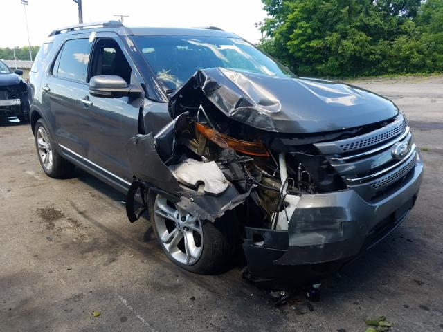 Ford Explorer L salvage cars for sale: 2012 Ford Explorer L