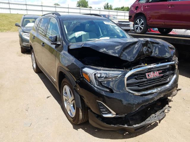 GMC Terrain SL salvage cars for sale: 2019 GMC Terrain SL