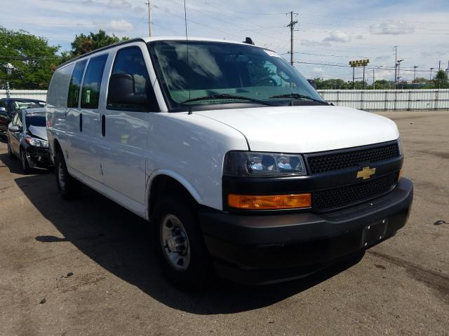 Salvage cars for sale from Copart Moraine, OH: 2019 Chevrolet Express G2