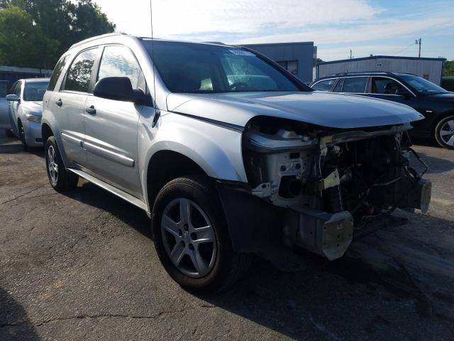 Salvage cars for sale from Copart Gaston, SC: 2005 Chevrolet Equinox LS