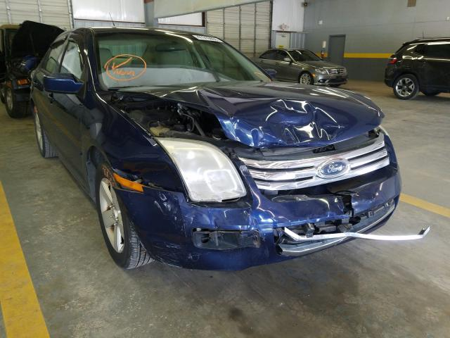 Ford Fusion SE salvage cars for sale: 2007 Ford Fusion SE