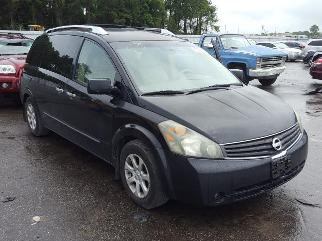 Salvage cars for sale from Copart Dunn, NC: 2008 Nissan Quest S