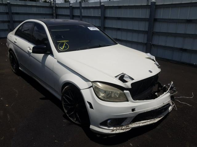 Mercedes-Benz C300 salvage cars for sale: 2010 Mercedes-Benz C300