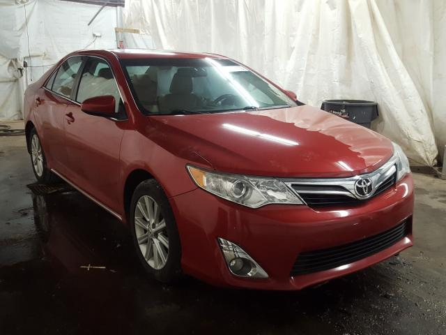 Salvage cars for sale from Copart Ebensburg, PA: 2012 Toyota Camry SE