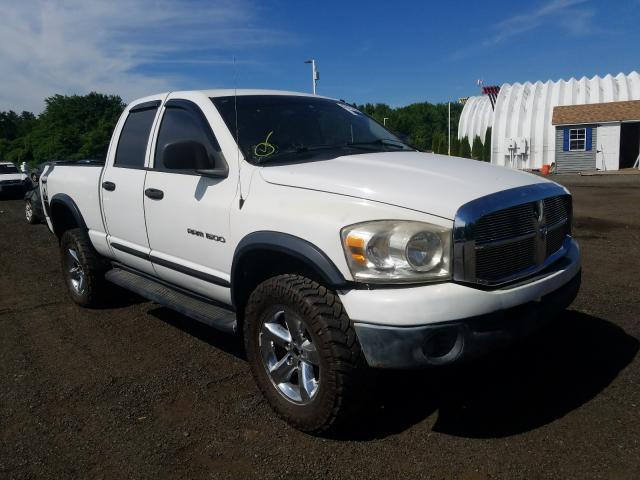 Salvage cars for sale from Copart East Granby, CT: 2007 Dodge RAM 1500 S