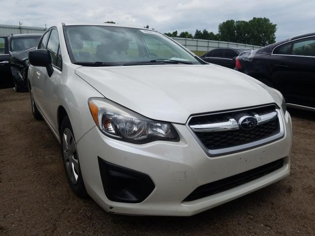 Subaru salvage cars for sale: 2012 Subaru Impreza