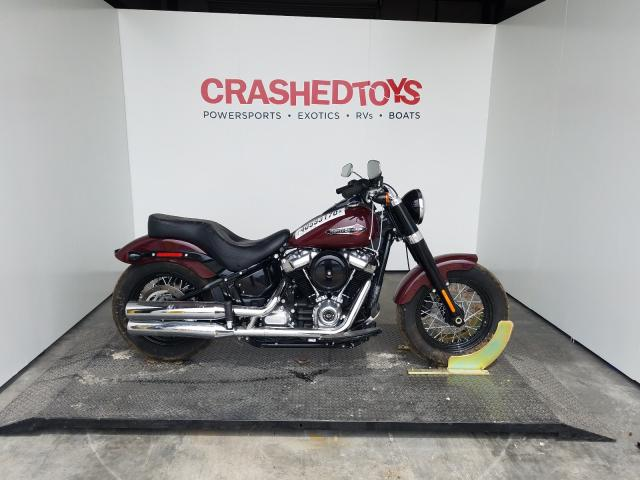 Harley-Davidson Flsl salvage cars for sale: 2020 Harley-Davidson Flsl