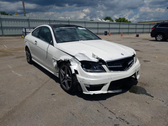 Salvage cars for sale from Copart Lexington, KY: 2013 Mercedes-Benz C 63 AMG