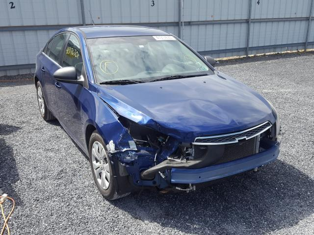 Salvage cars for sale from Copart York Haven, PA: 2012 Chevrolet Cruze LS