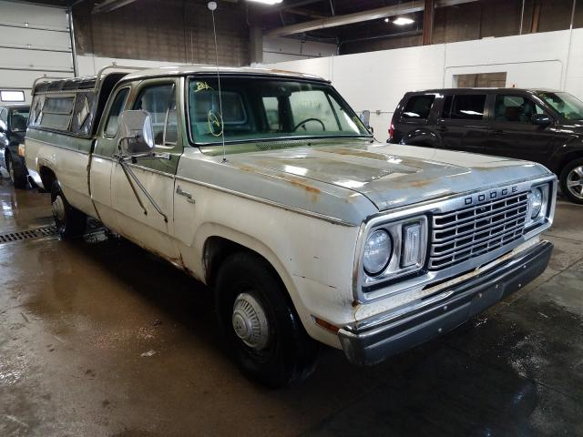 Dodge Pickup salvage cars for sale: 1977 Dodge Pickup