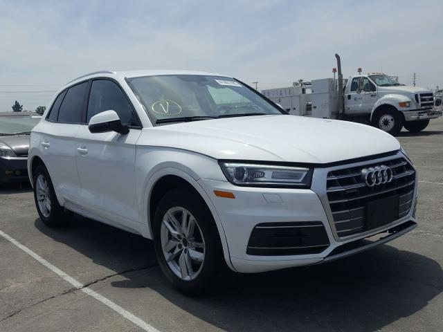 Salvage cars for sale from Copart Sun Valley, CA: 2018 Audi Q5 Premium