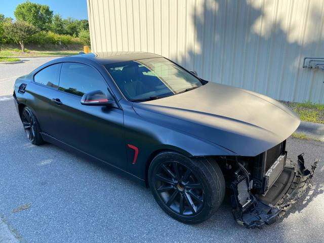 Salvage cars for sale from Copart China Grove, NC: 2014 BMW 428 XI