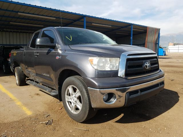 Toyota Tundra DOU salvage cars for sale: 2011 Toyota Tundra DOU