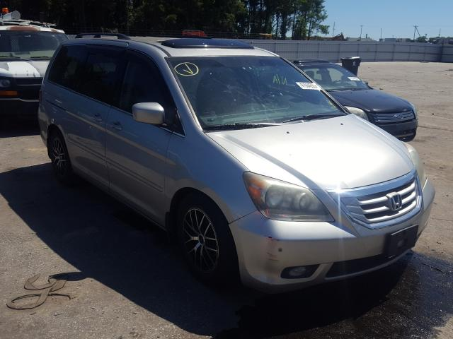 Salvage cars for sale from Copart Dunn, NC: 2009 Honda Odyssey TO