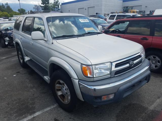 Salvage cars for sale from Copart Rancho Cucamonga, CA: 2000 Toyota 4runner SR