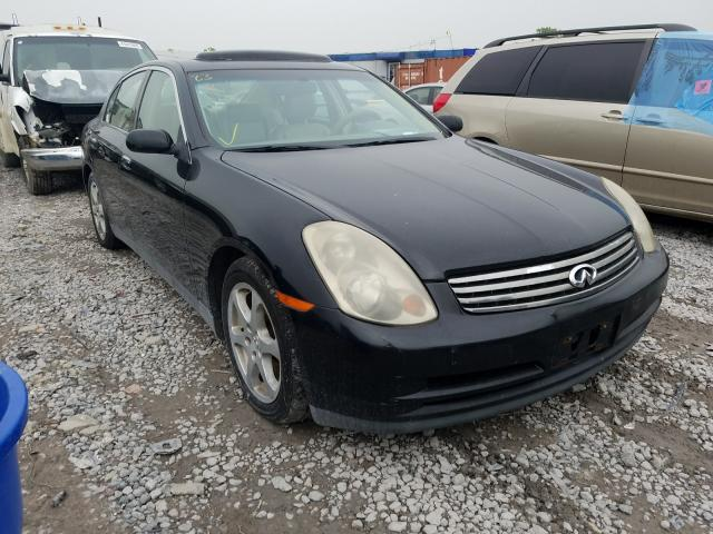 Infiniti salvage cars for sale: 2003 Infiniti G35