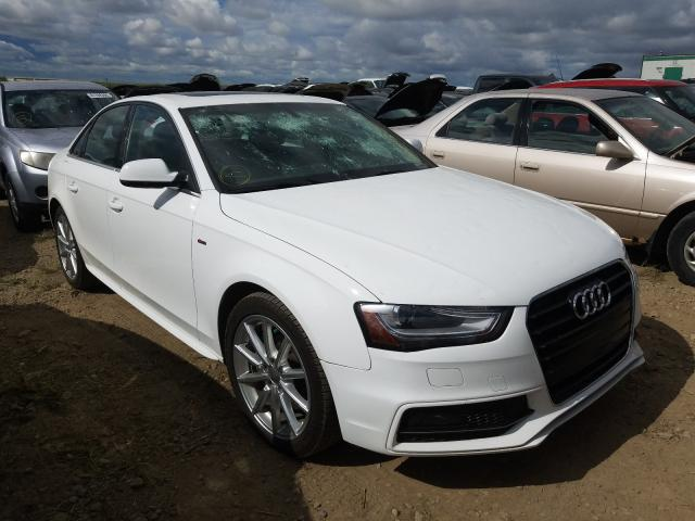 Salvage 2015 AUDI A4 - Small image. Lot 41290440