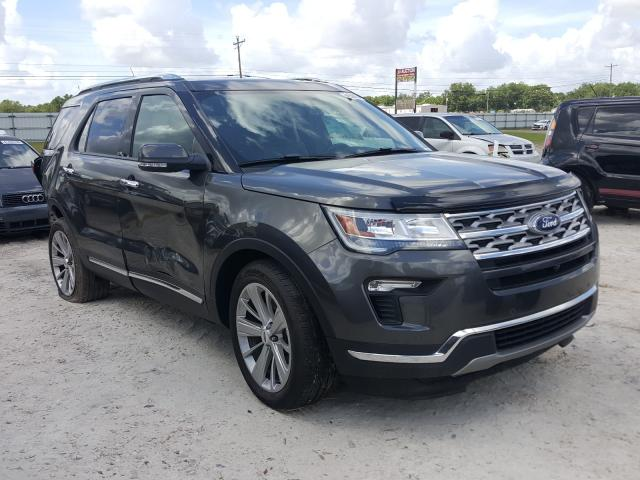Salvage cars for sale from Copart Newton, AL: 2019 Ford Explorer L