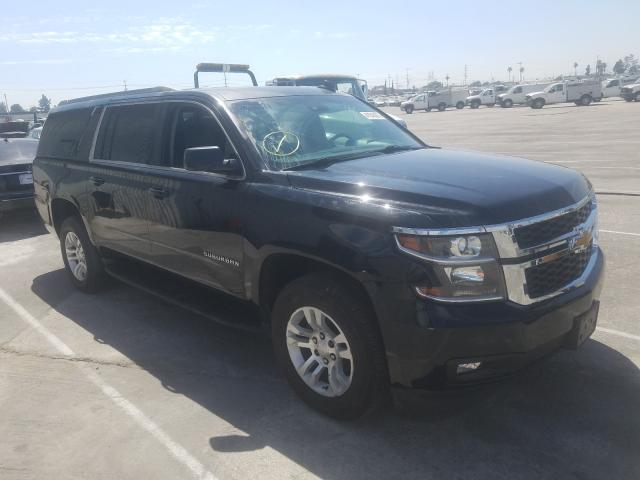 Chevrolet Suburban C salvage cars for sale: 2017 Chevrolet Suburban C