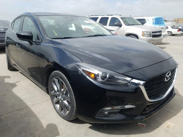 Salvage cars for sale from Copart Grand Prairie, TX: 2018 Mazda 3 Grand Touring