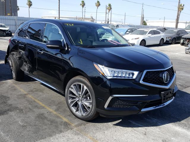 Acura MDX salvage cars for sale: 2019 Acura MDX