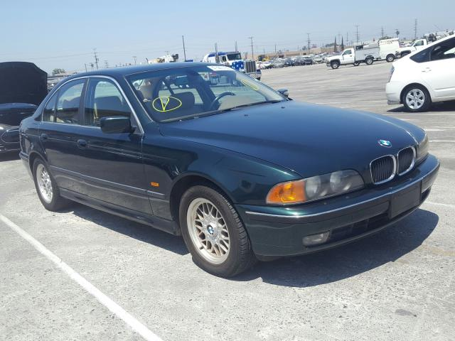 Salvage cars for sale from Copart Sun Valley, CA: 2000 BMW 528 I Automatic