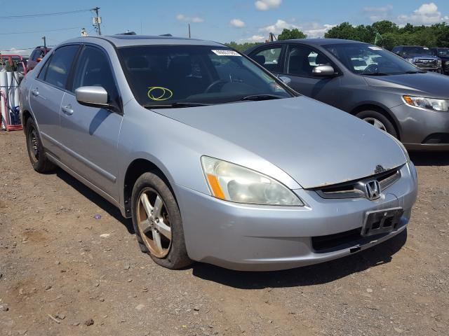 Salvage cars for sale from Copart Hillsborough, NJ: 2003 Honda Accord EX