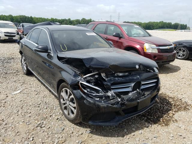 Salvage cars for sale at Memphis, TN auction: 2016 Mercedes-Benz C 300 4matic