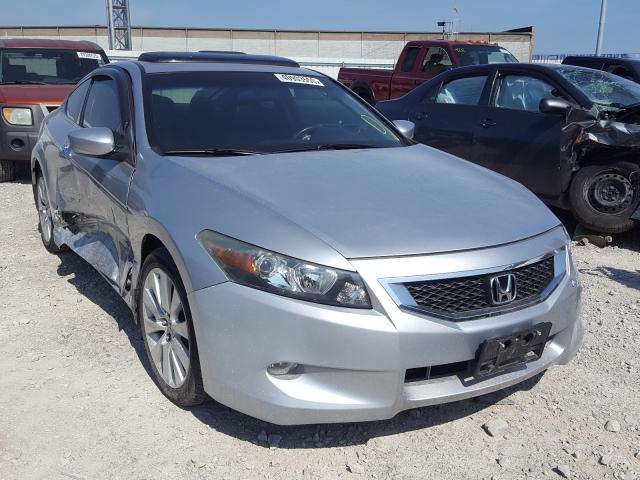 Salvage cars for sale from Copart Columbus, OH: 2010 Honda Accord EXL