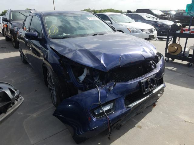 Salvage cars for sale from Copart Grand Prairie, TX: 2015 Honda Accord Sport