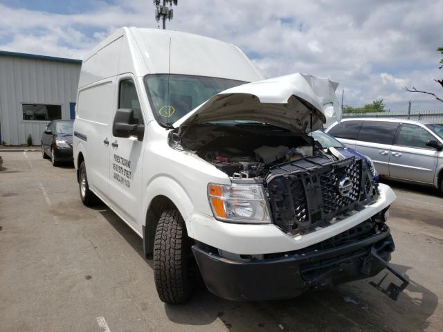 Nissan NV 2500 S salvage cars for sale: 2016 Nissan NV 2500 S