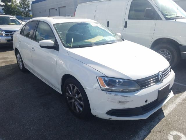 Salvage cars for sale from Copart Rancho Cucamonga, CA: 2011 Volkswagen Jetta SE