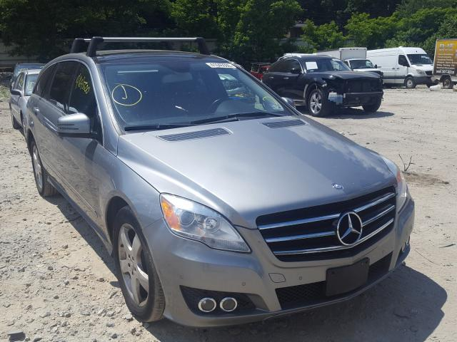 Salvage cars for sale from Copart Mendon, MA: 2011 Mercedes-Benz R 350 4matic
