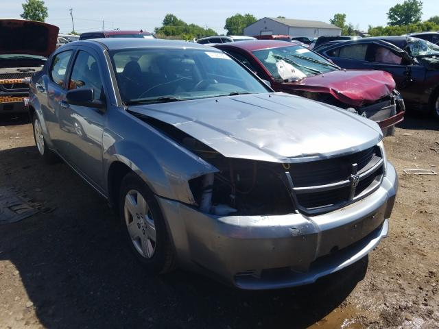 Salvage cars for sale from Copart Columbia Station, OH: 2010 Dodge Avenger SX