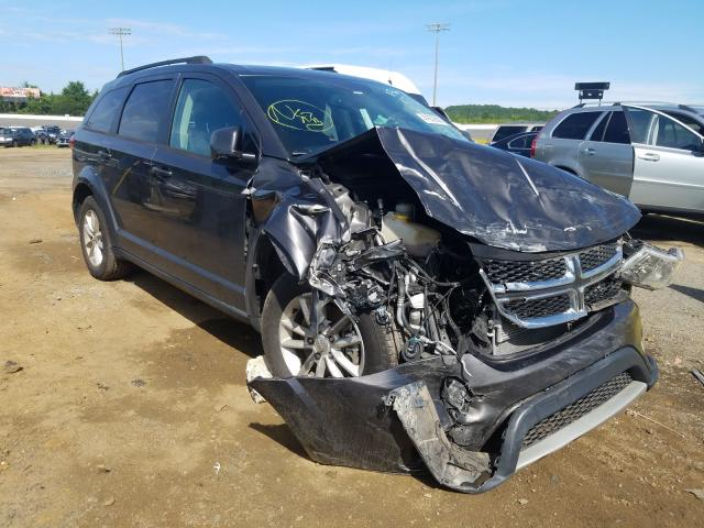 Salvage cars for sale from Copart Concord, NC: 2016 Dodge Journey SX