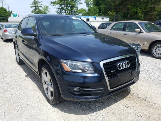 Audi salvage cars for sale: 2010 Audi Q5 Premium