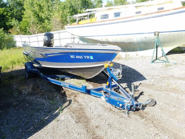 Lund salvage cars for sale: 2016 Lund Boat