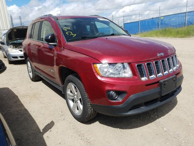 Jeep salvage cars for sale: 2012 Jeep Compass