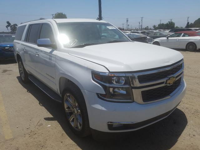 Chevrolet Suburban C salvage cars for sale: 2015 Chevrolet Suburban C