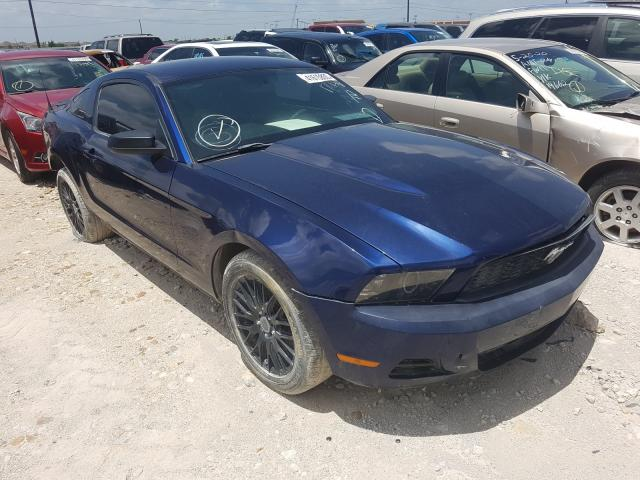 Salvage cars for sale from Copart Haslet, TX: 2010 Ford Mustang