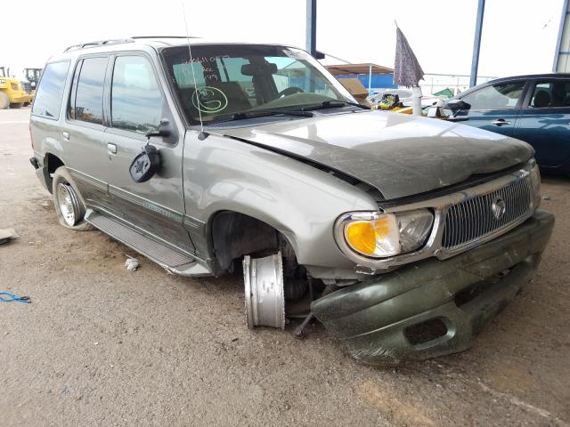 Mercury Mountainee salvage cars for sale: 2000 Mercury Mountainee