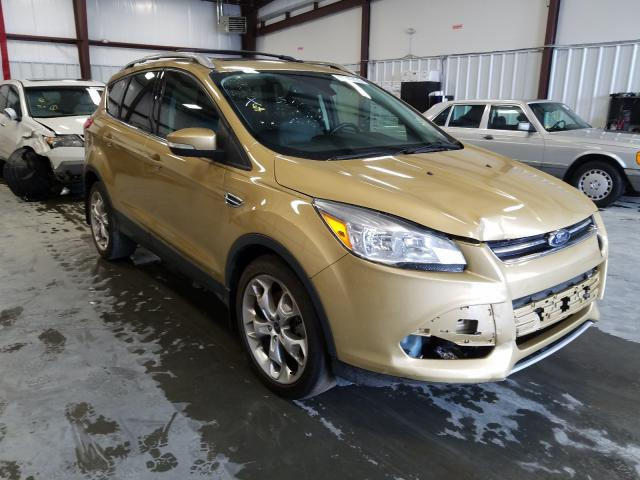 Salvage cars for sale from Copart Spartanburg, SC: 2014 Ford Escape Titanium