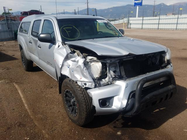 Toyota Tacoma DOU salvage cars for sale: 2012 Toyota Tacoma DOU