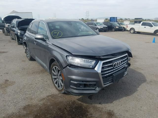 Audi Q7 Prestige salvage cars for sale: 2018 Audi Q7 Prestige