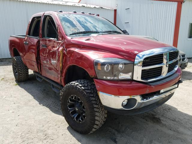 Salvage cars for sale from Copart Lyman, ME: 2006 Dodge RAM 2500 S